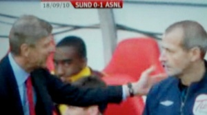 Wenger touches 4th official still