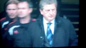 Hodgson pregame entrance