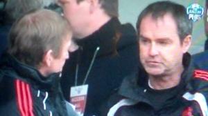 Dalglish Clarke halftime