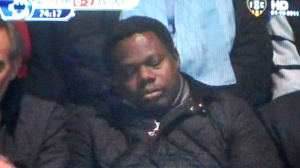 West Ham fan asleep 3
