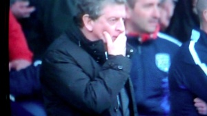 Hodgson 92 min hand on mouth